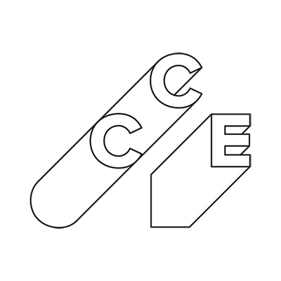 CCE logo holding